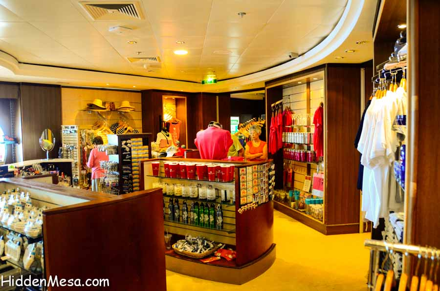 Shopping on the Norwegian Star