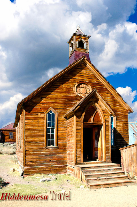 Church in Bodie State Historic Park, California