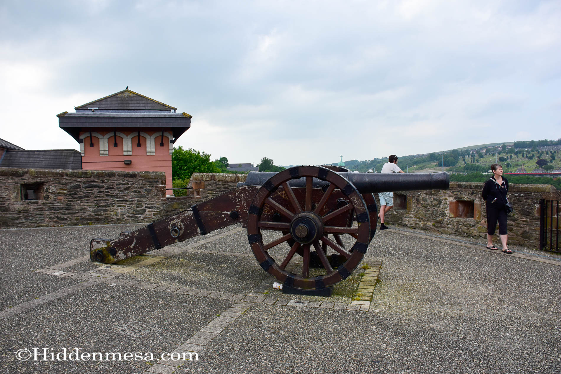 Cannon at the Double Bastion