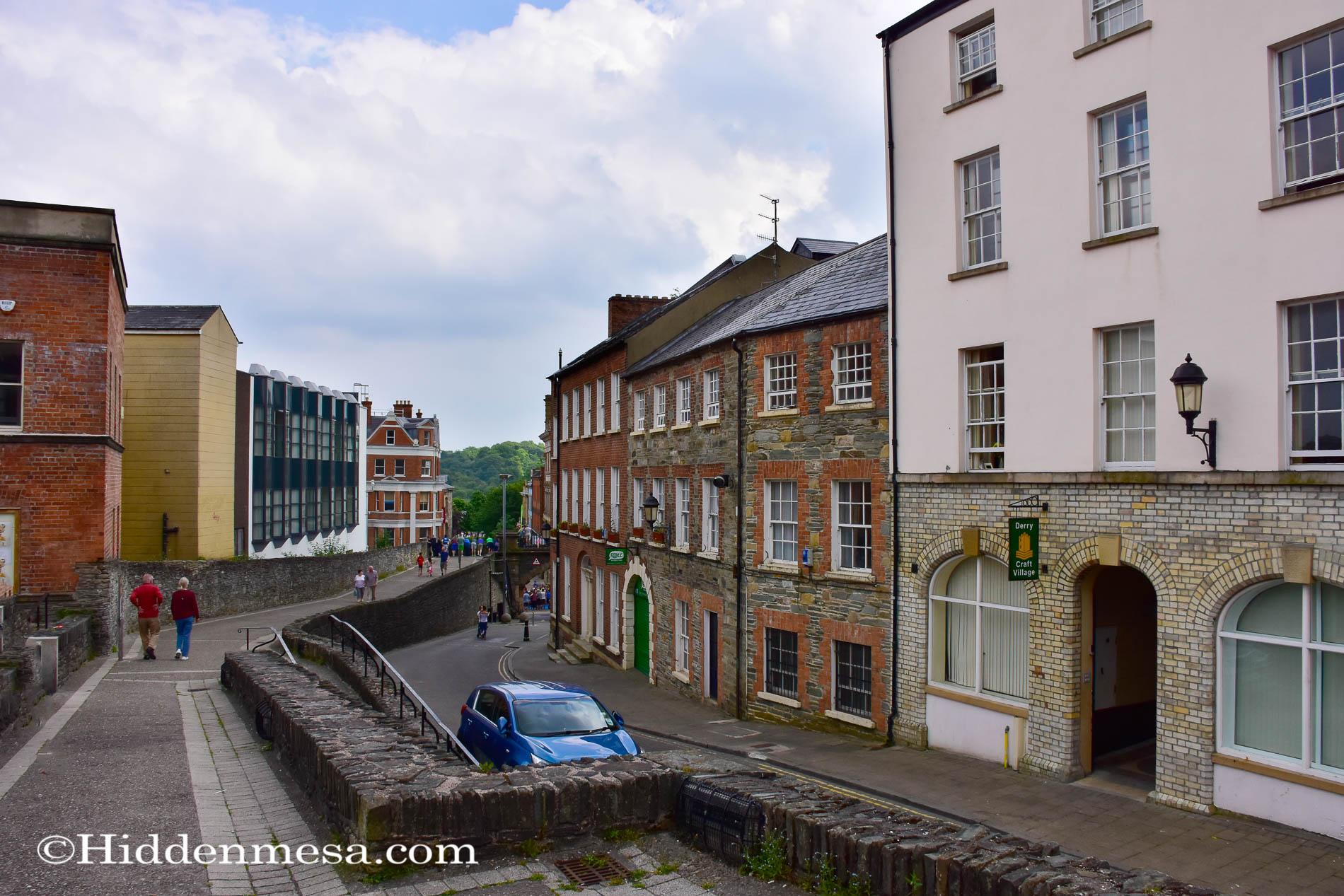 Derry Wall at Market Street