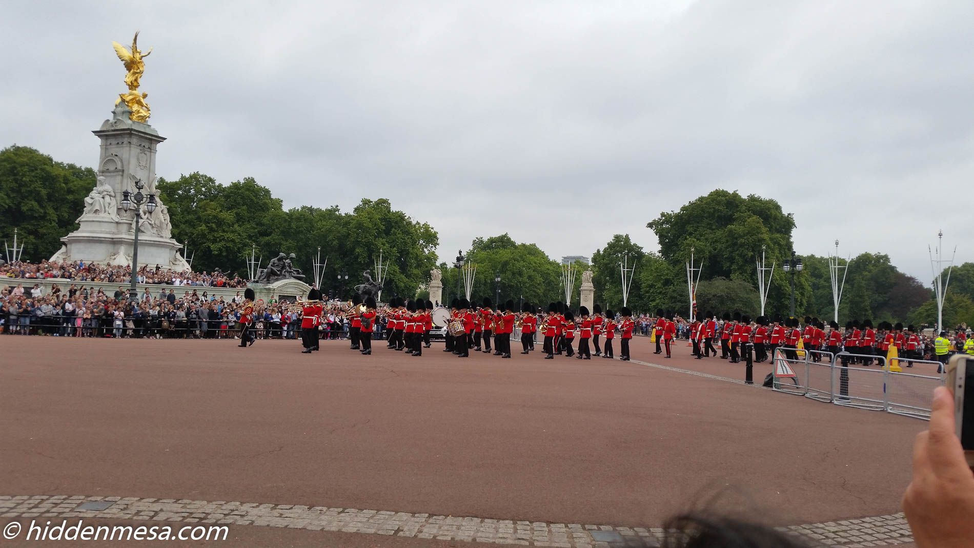 The Bands of the Guards Division