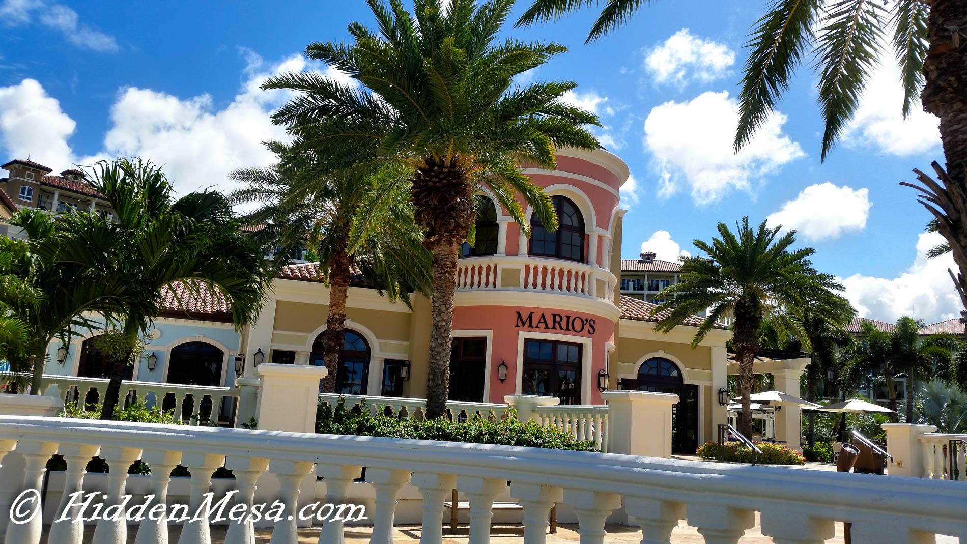 Mario's Restaurant at Sandals Grande Antigua