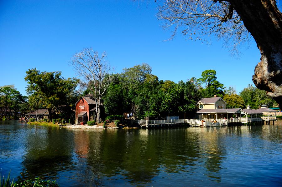 Tom Sawyer's Island
