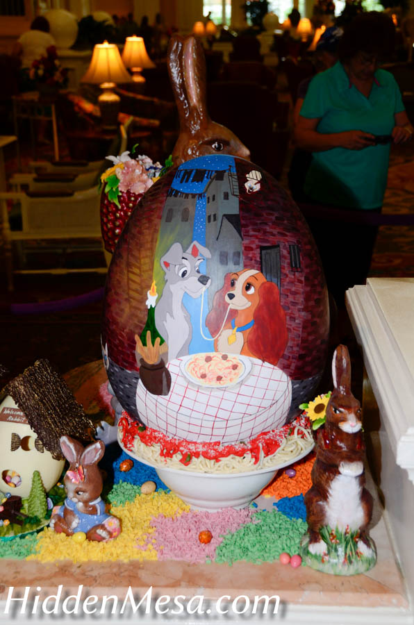 Easter Eggs, Grand Floridian