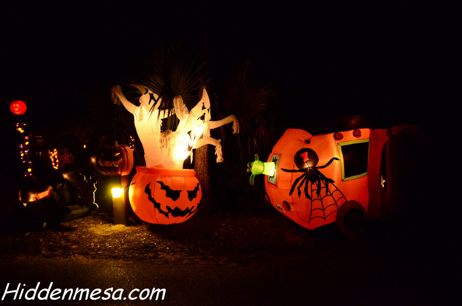 Ghosts and Jack O'Lanterns