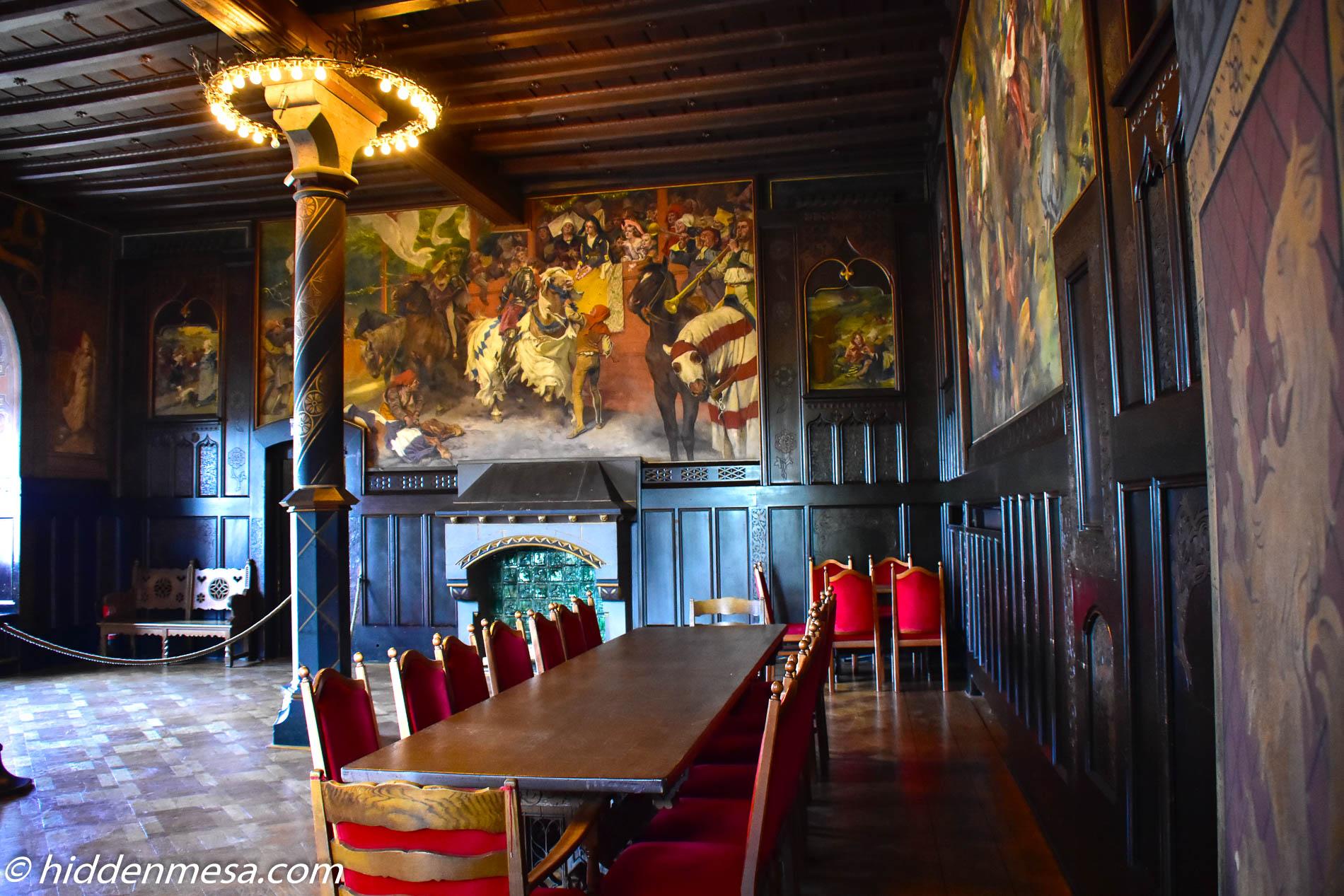 Great Dining Hall at Schloss Burg