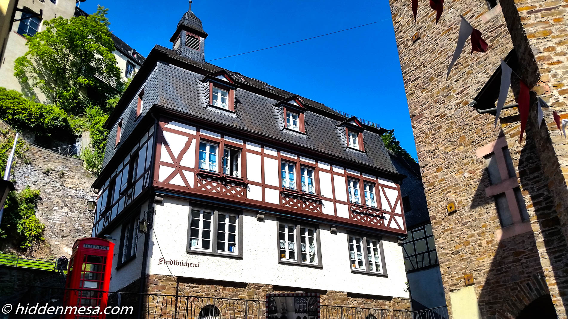 One of Hundreds of Interesting Buildings in Old Town, Cochem