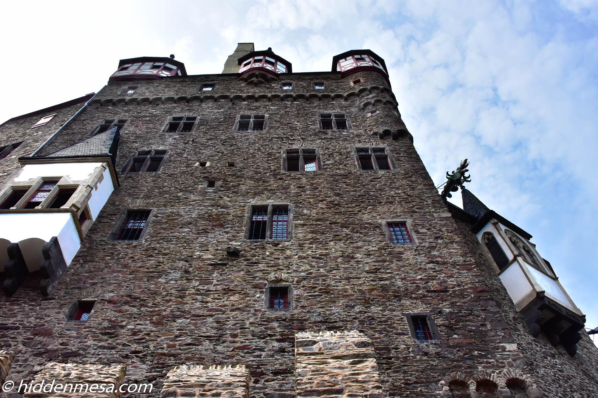Castle Eltz Walls