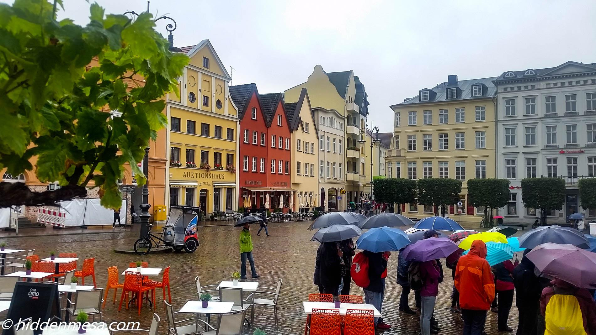Market Square in the Rain