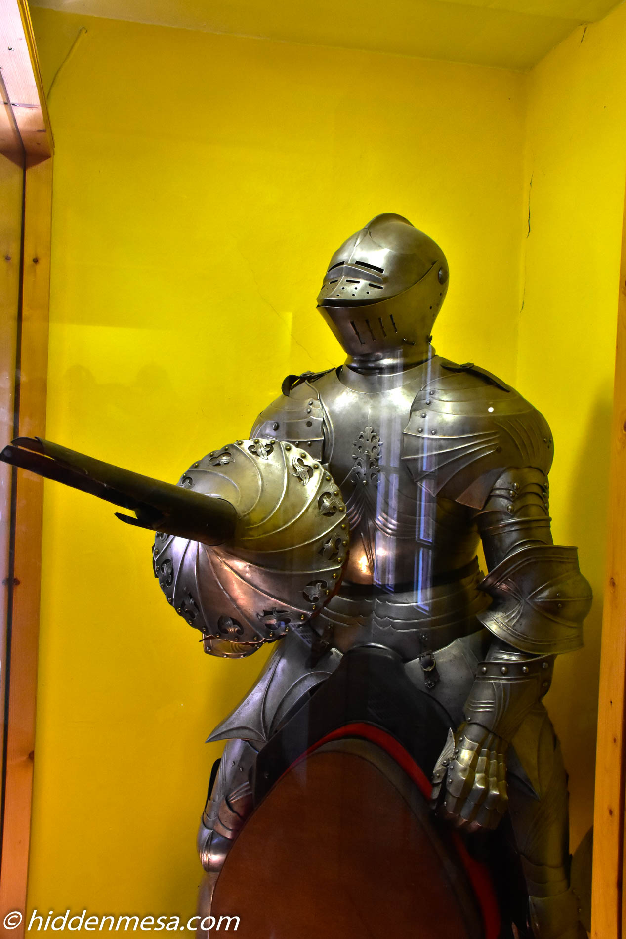 Suit of Armour at Schloss Burg