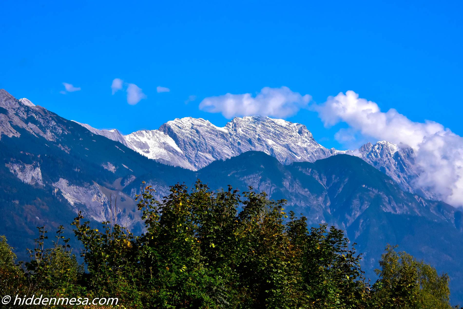 Mountain Range in Austria.