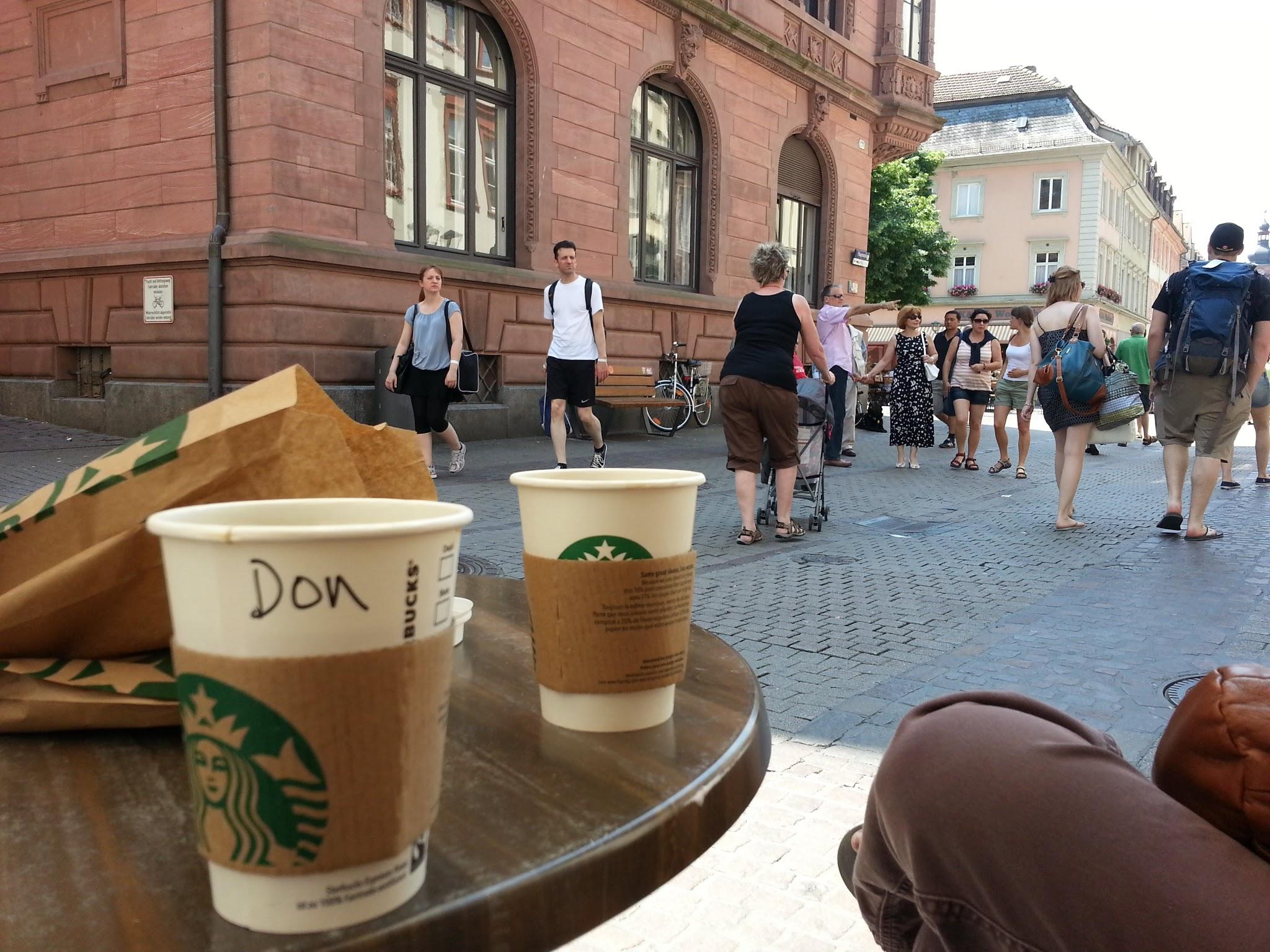 Street scene in Heidelberg