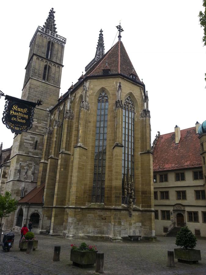 Church in Rothenburg