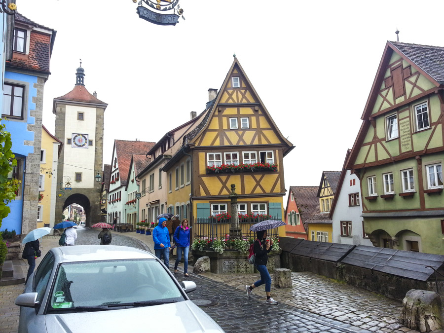 Street Scene in Rothenburg