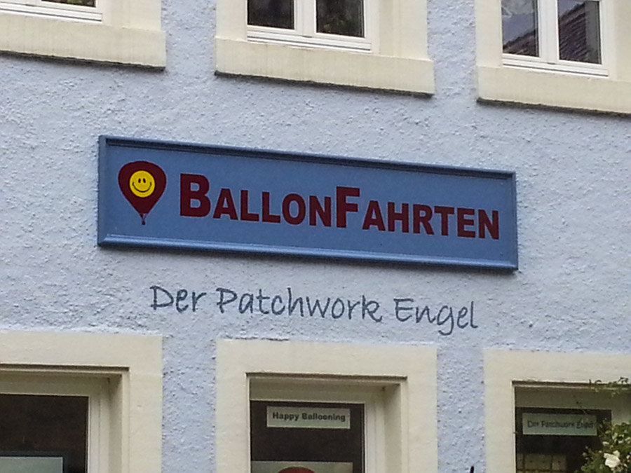 Sign in German
