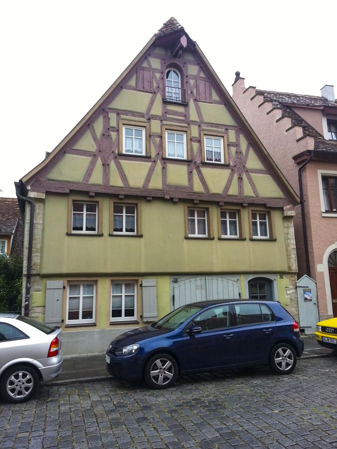 Street Scene in Rothenburg