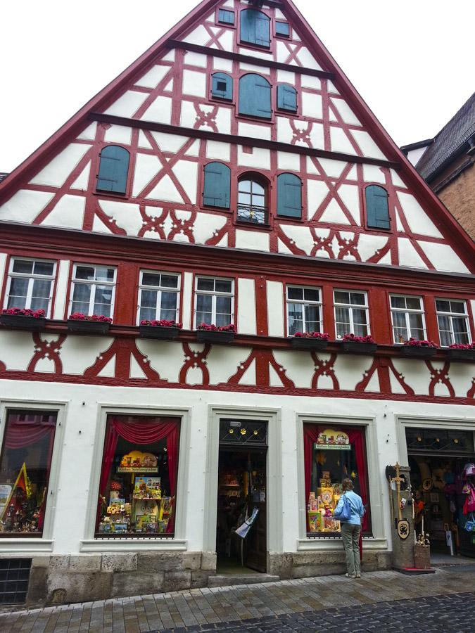 Old Building in Rothenburg
