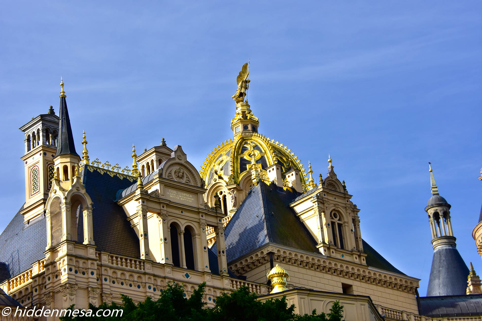Golden Dome of Schwerin.