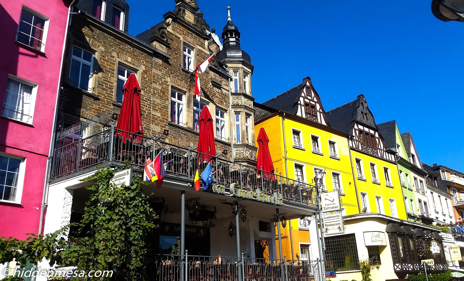 Restaurants and Stores in Cochem