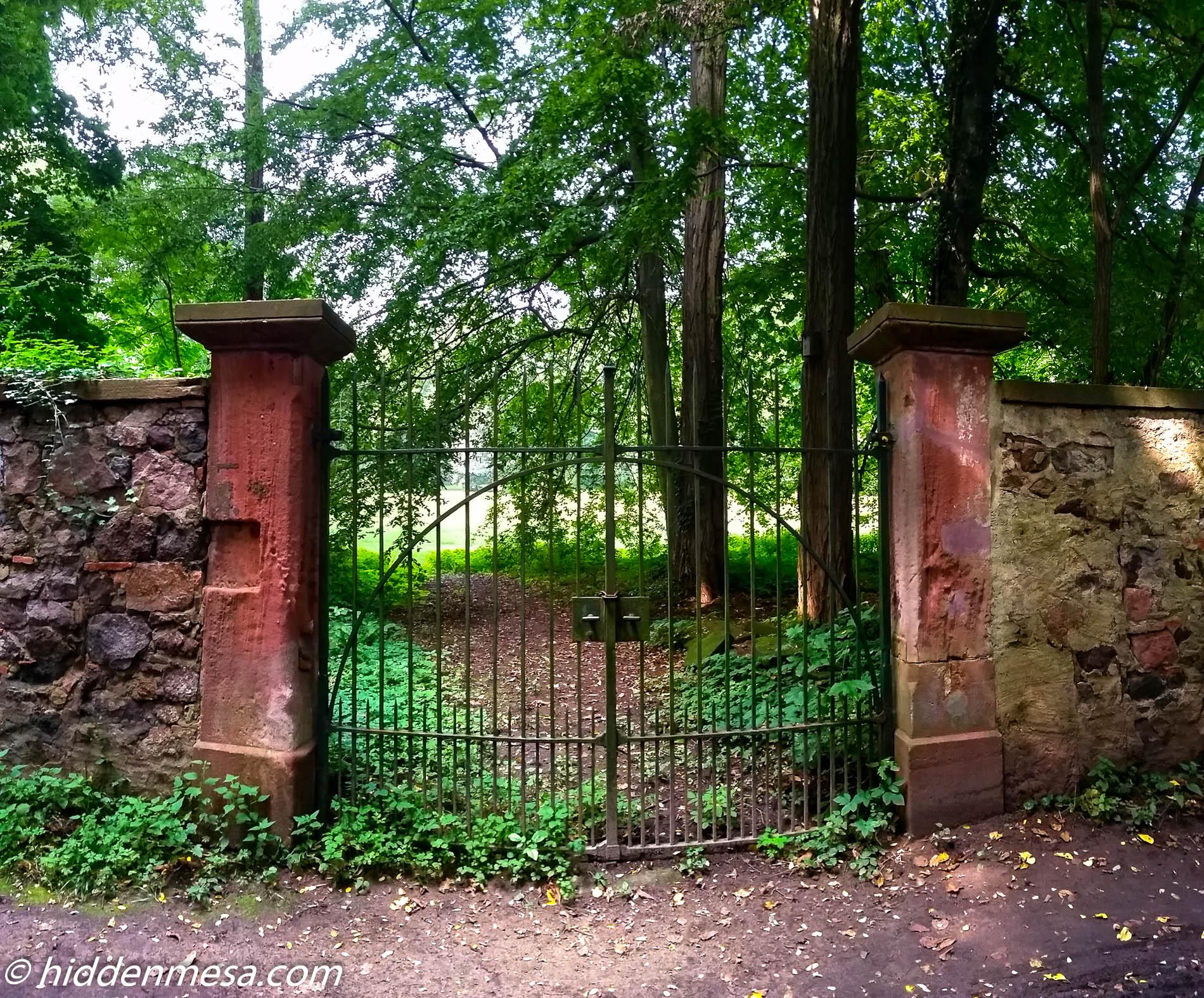 Gate at Hotel Jagdschloss Kranichstein