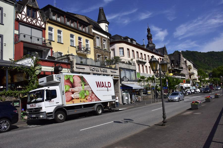 Street scene Cochem, Germany