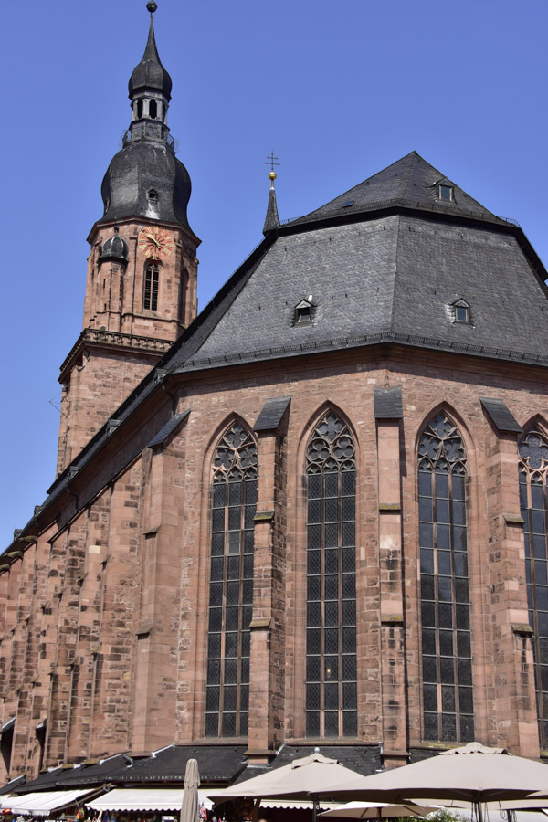 Church in Heidelberg Germany