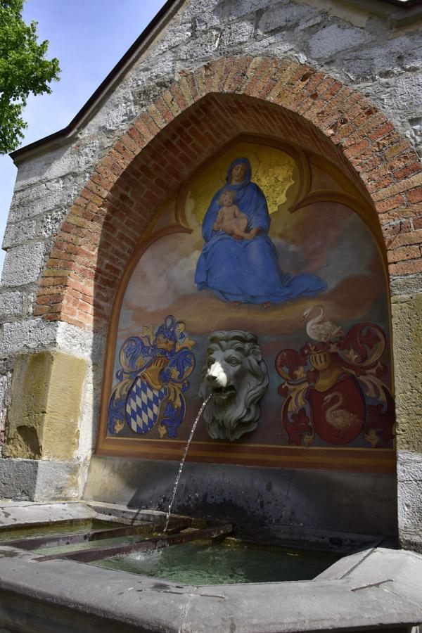 Religious Fountain