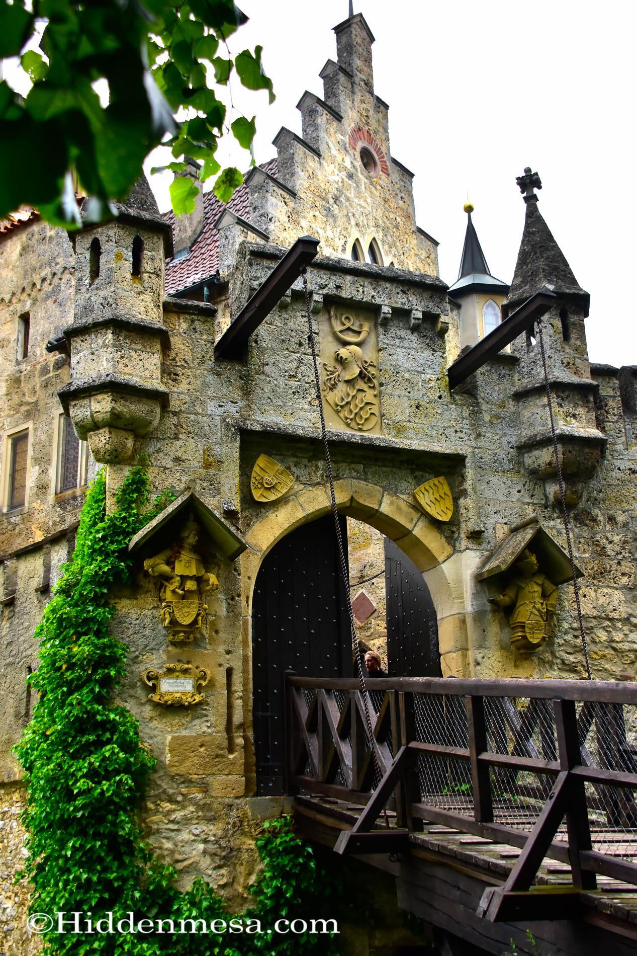 Bridge to  Lichtenstein Castle