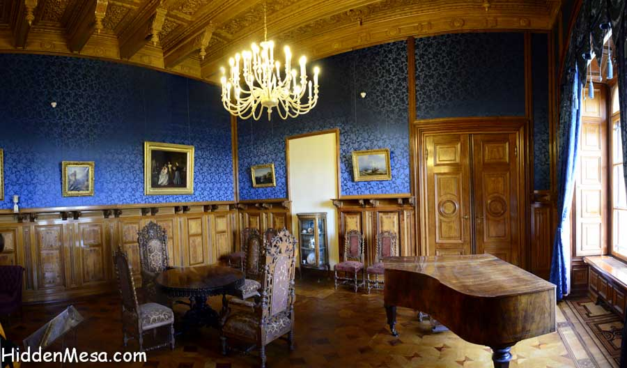 Inside the Schwerin Castle