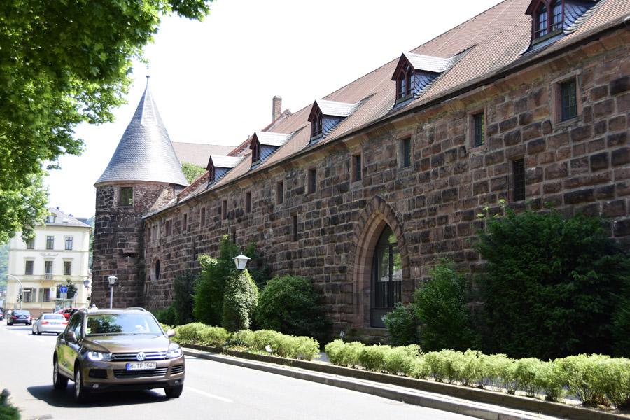 Building in Heidelberg