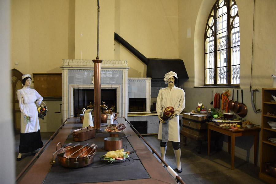 Kitchen at Hohenschwangau Castle