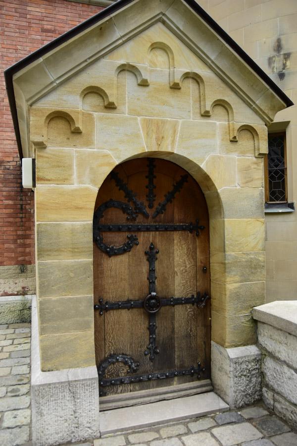 Doorway at Neuschwanstein Castle