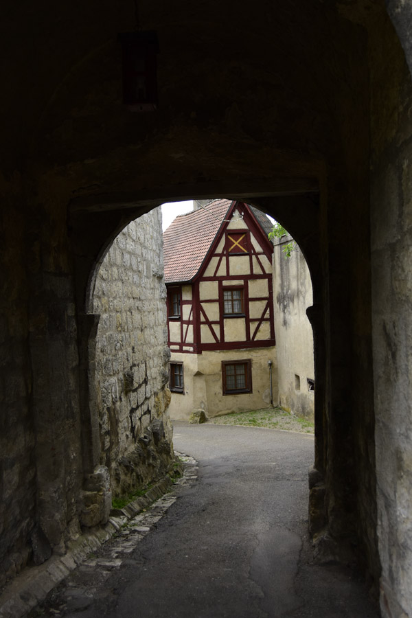 Interior of Harburg Castle