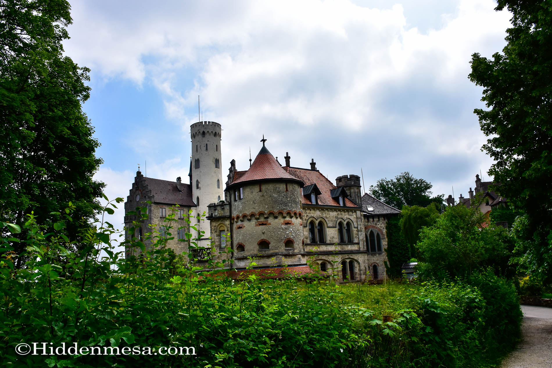 View of Lichtenstein Castle