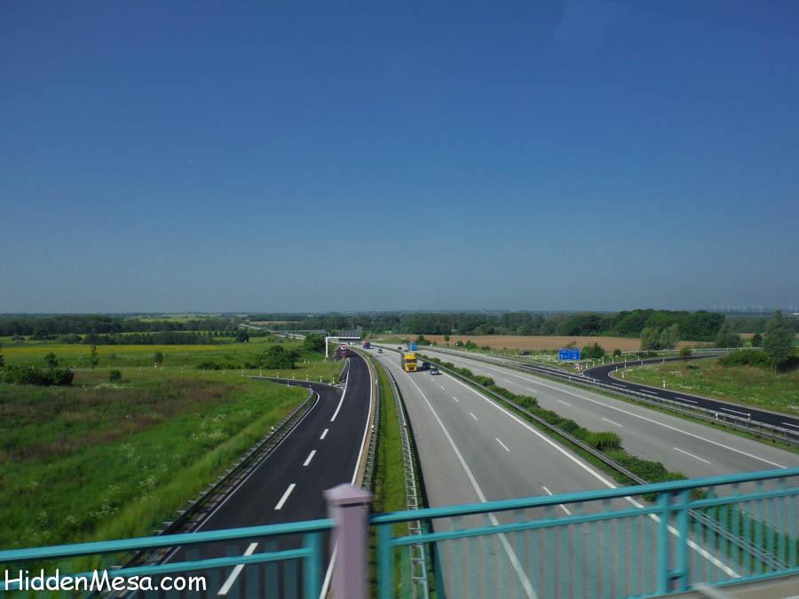 Freeway in Germany