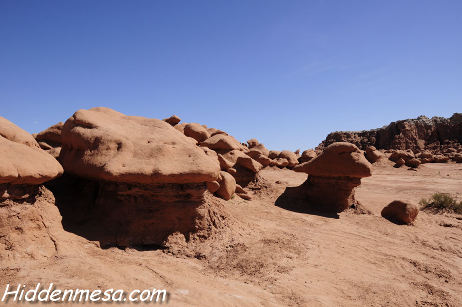 Hoodoos at Goblin Valley