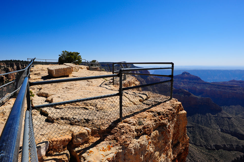 View of the north rim