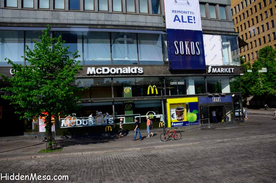 McDonalds in Helsinki