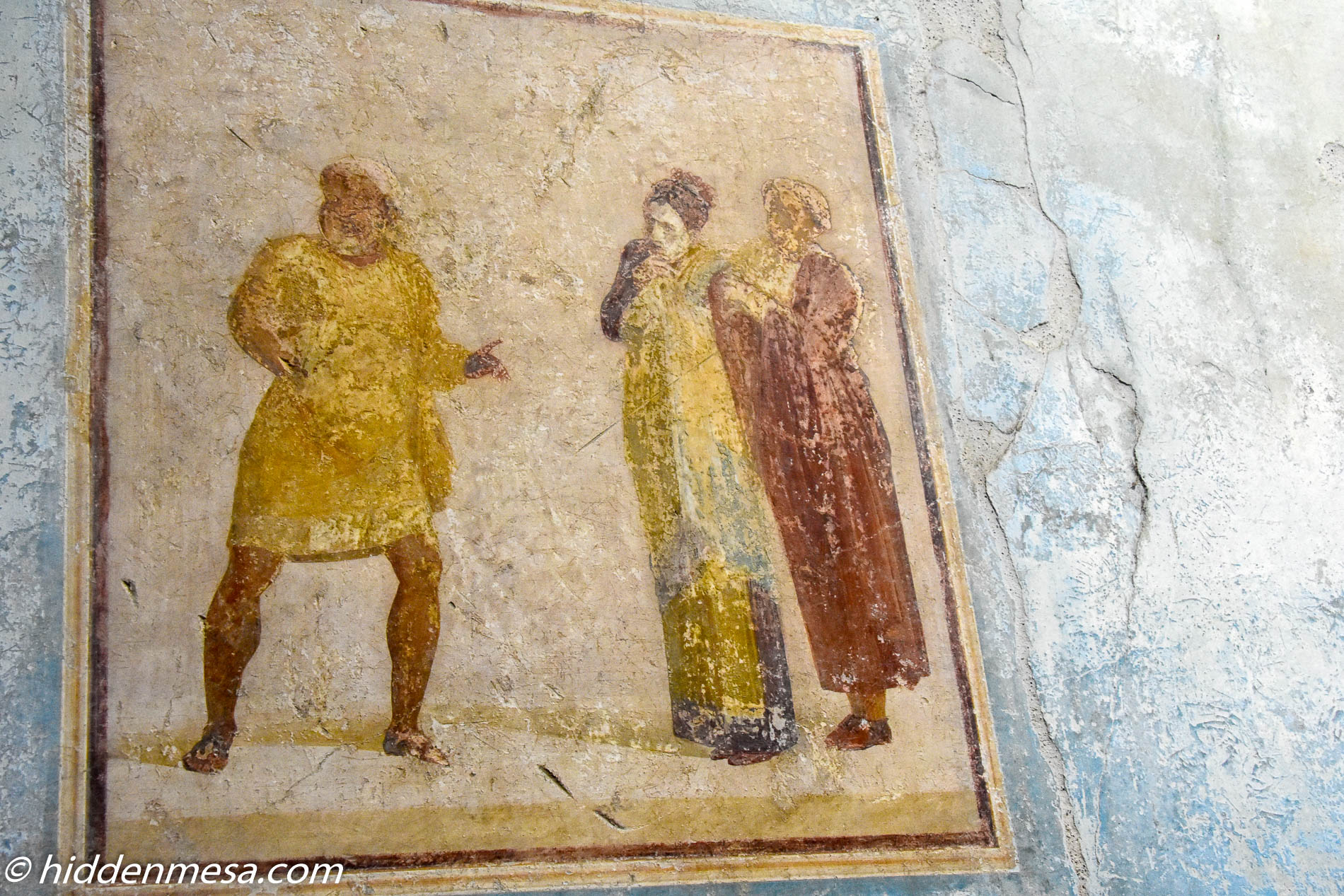 Fresco House of Casca Longus