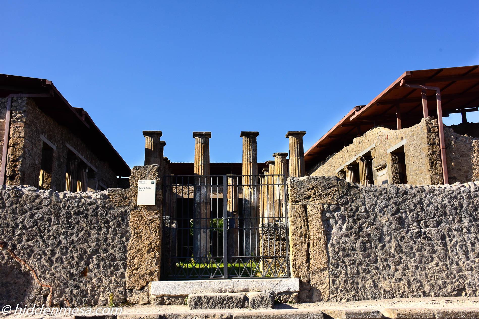 Casa di Epidius Rufus
