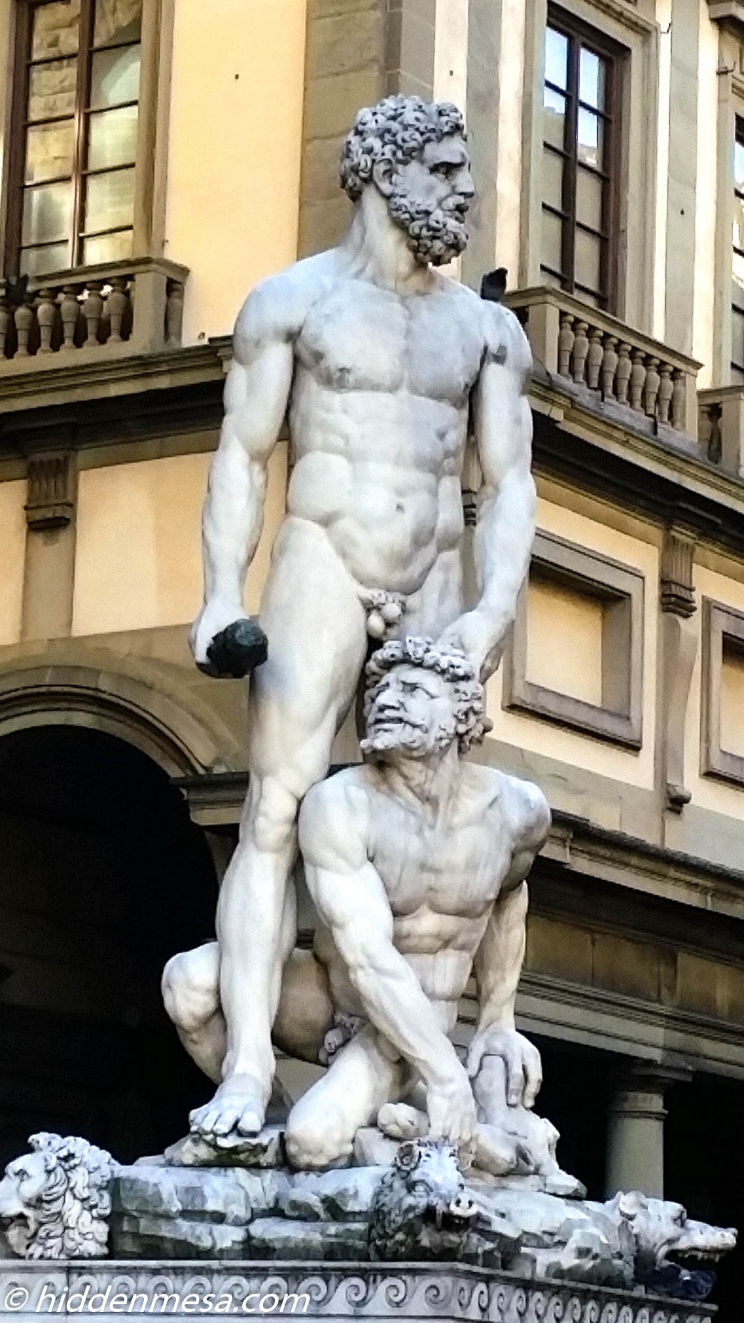 Hercules and Cacus.