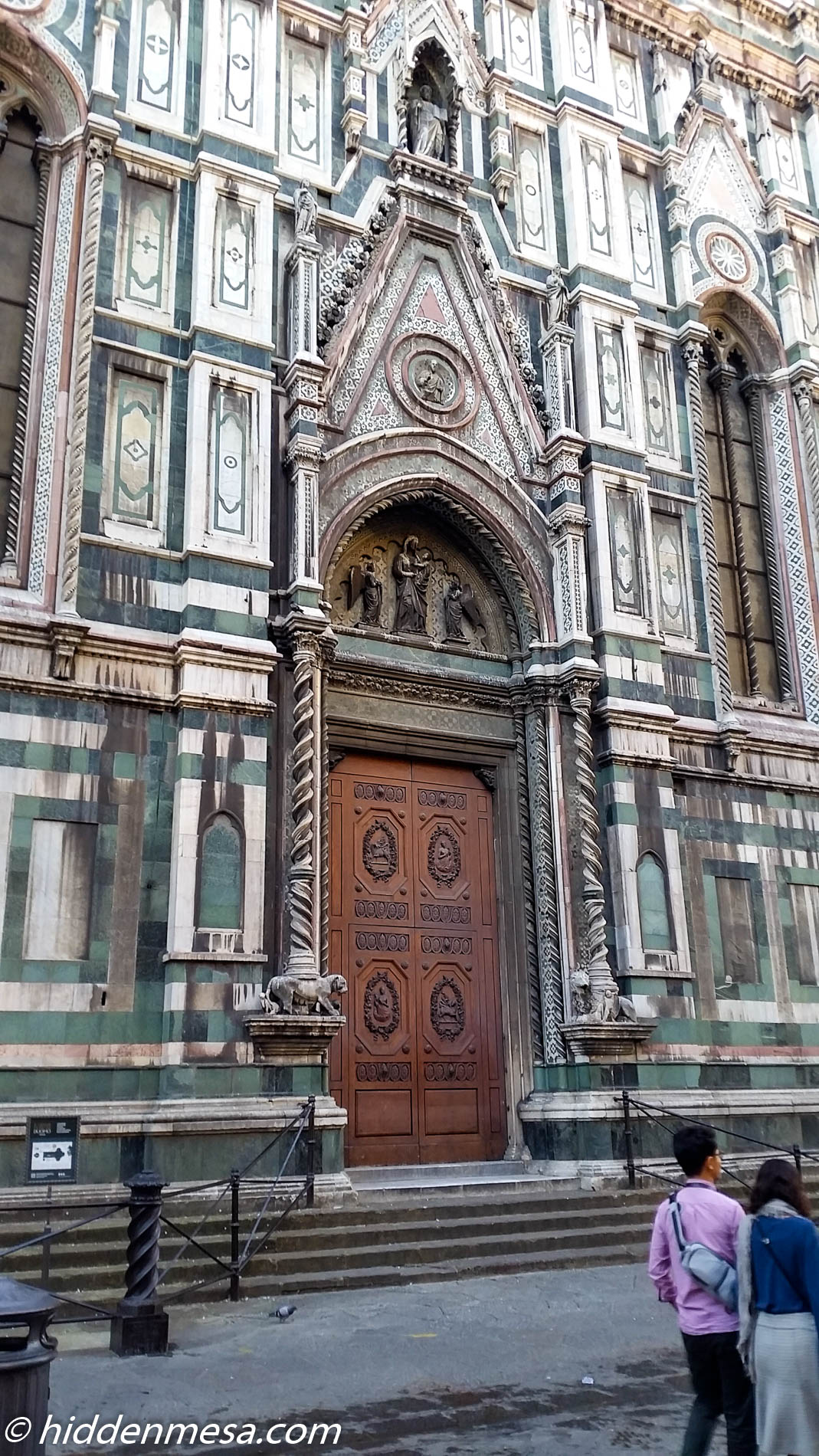 Carved Doors at Cattedrale di Santa Maria del Fiore