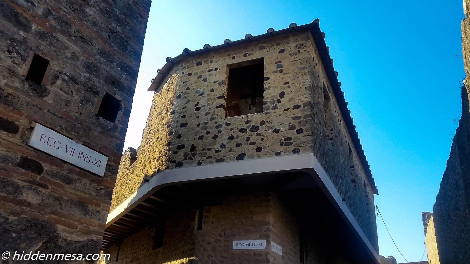 Lupanar of Pompeii