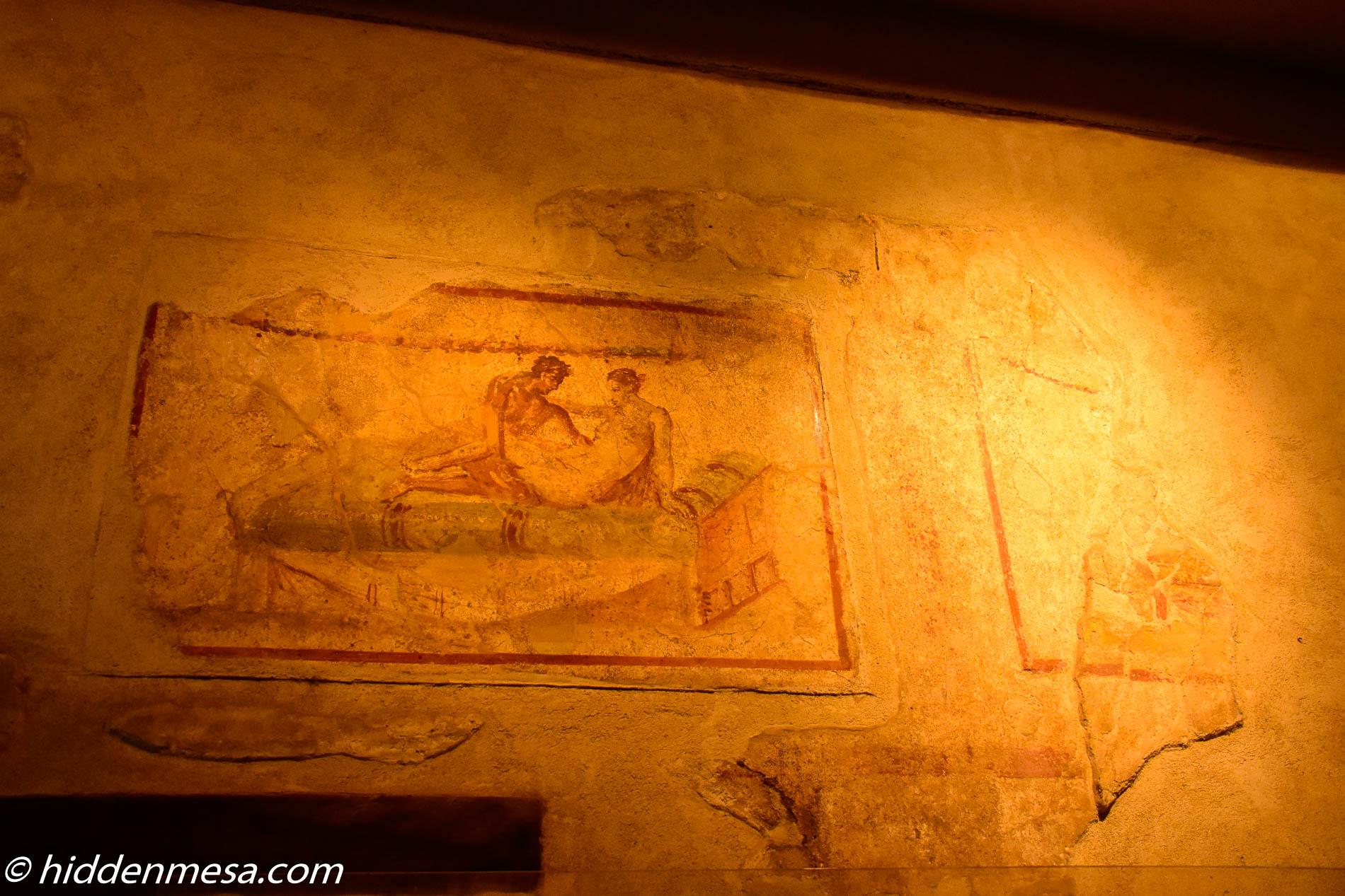 Fresco in Lupanar