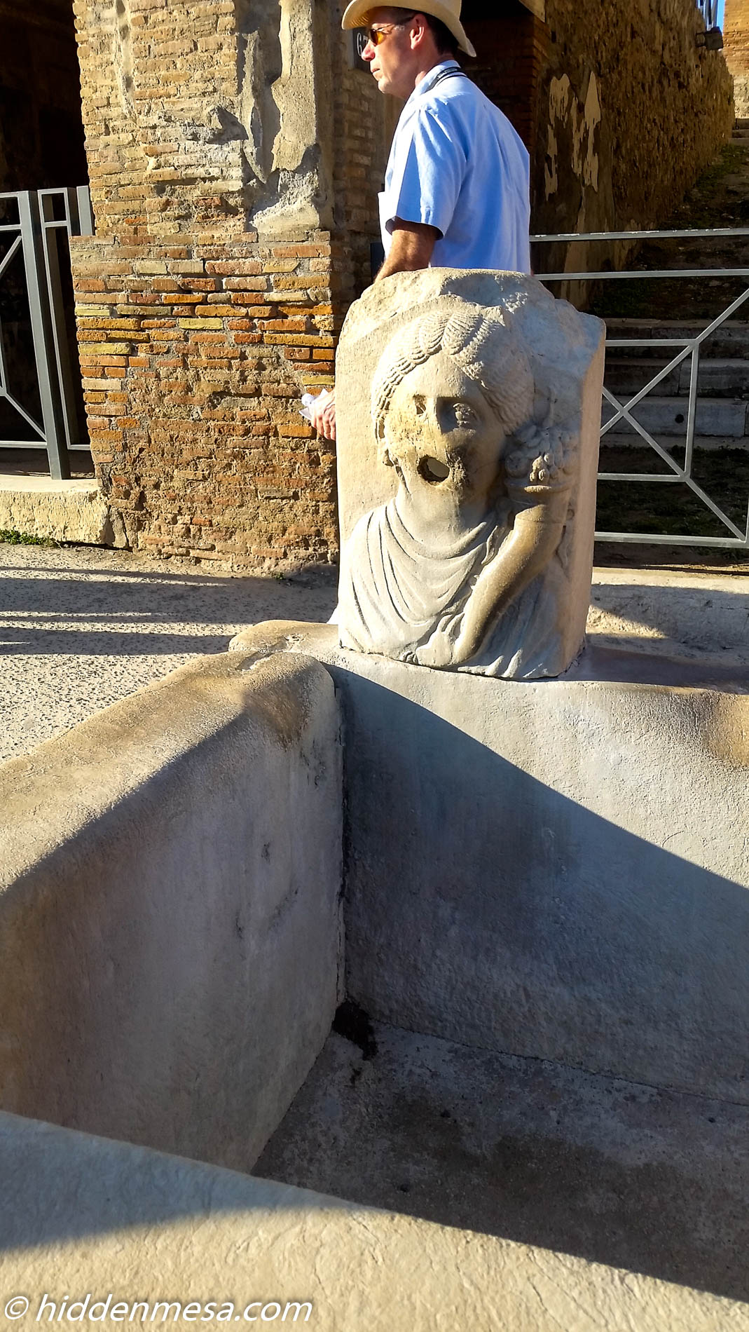well in Pompeii