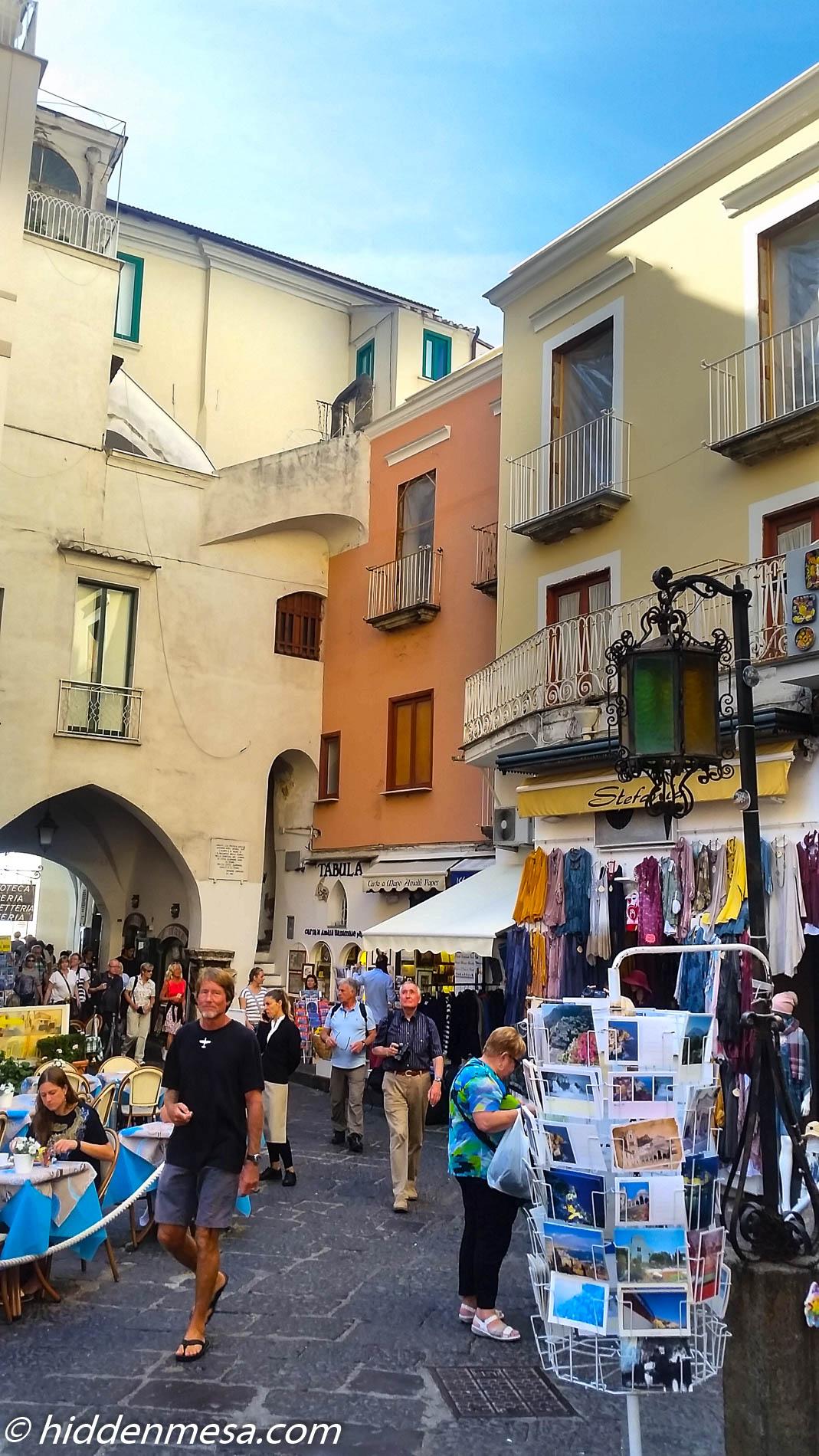Entrance to Amalfi