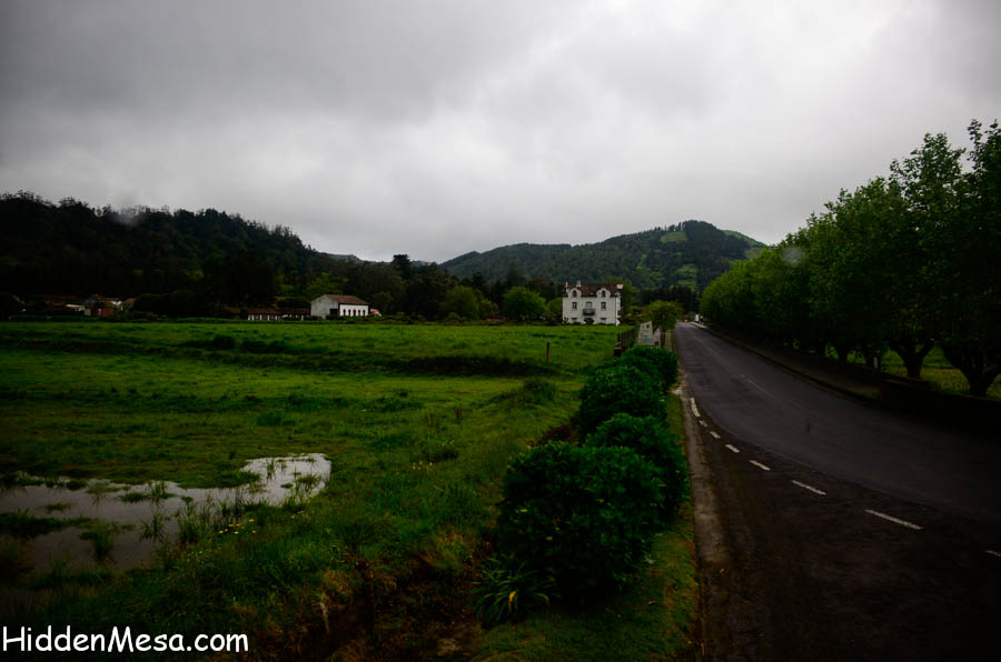 Countryside in the Azores