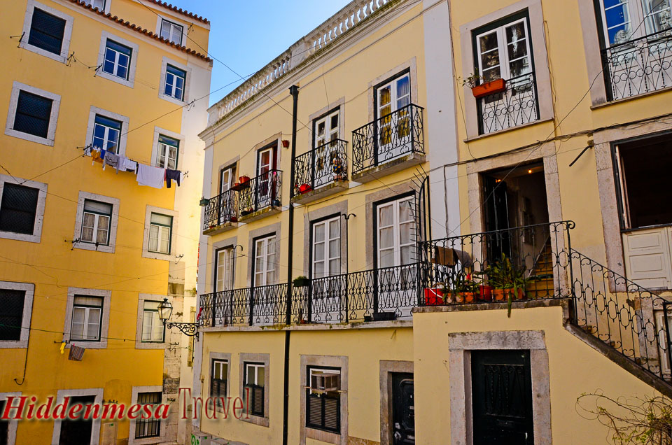 Apartments in the Alfama District of Lisbon Portugal