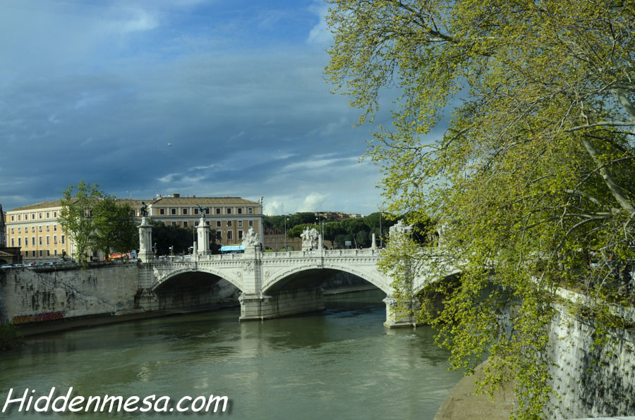 Bridge over the Tiber River