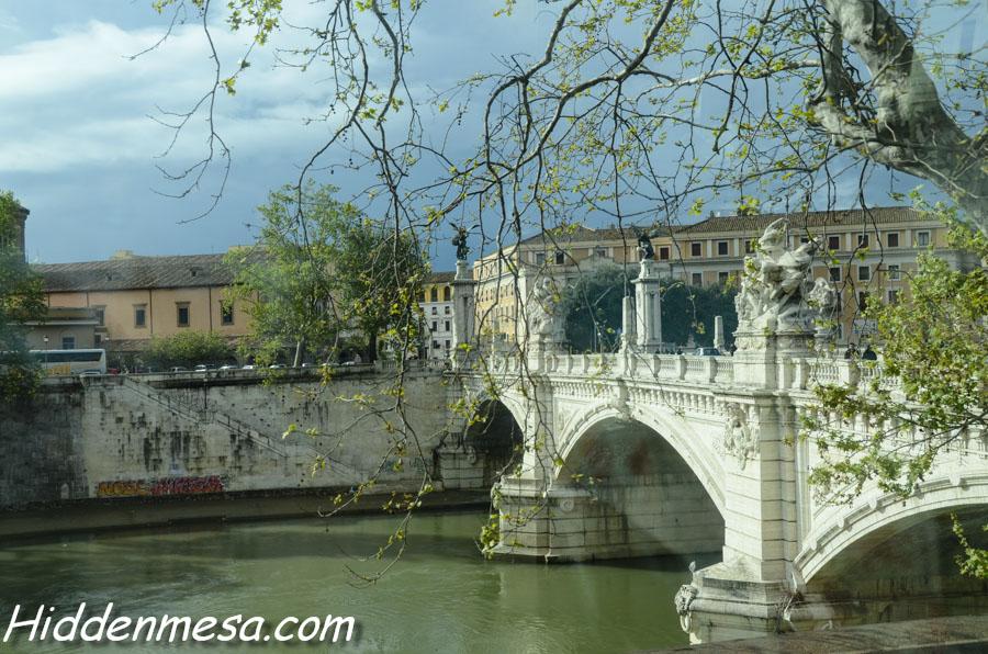Bridge over the Tiber River